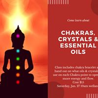 Chakras Crystals &amp Essential Oils