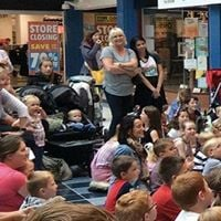 Silly Scott Show at Fareham Shopping Centre