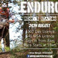 Whyalla Mcc Competitive Enduro Rehnys station