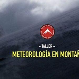 Taller de Meteorología en Montaña 14a1352053e3