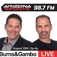 Burns and Gambo LIVE