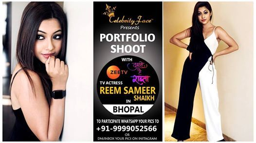 Meet And Greet with TV Actress Reem Sameer Shaikh in Bhopal.