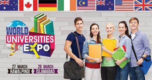 World Universities Expo 2019 at Serena Hotel Islamabad