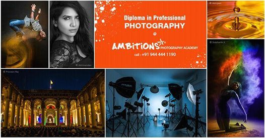 Diploma in Professional Photography courses