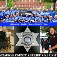 WI Riders Unity Tour Send Off and &amp K9 Rev Swearing In