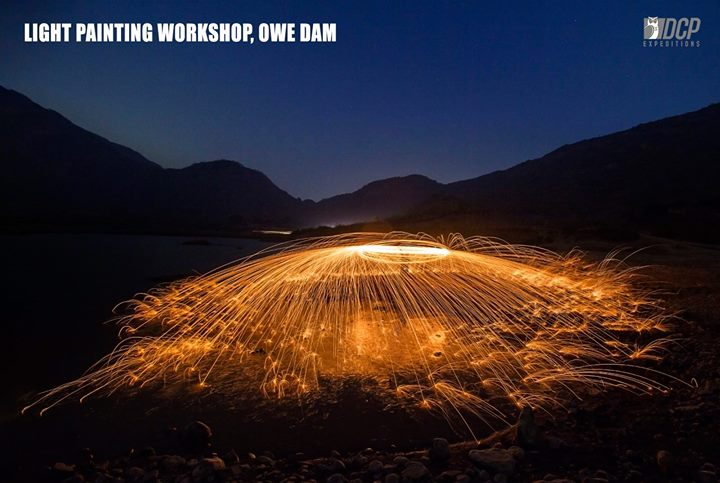 Light Painting Workshop - Owe Dam Mumbai January 2018