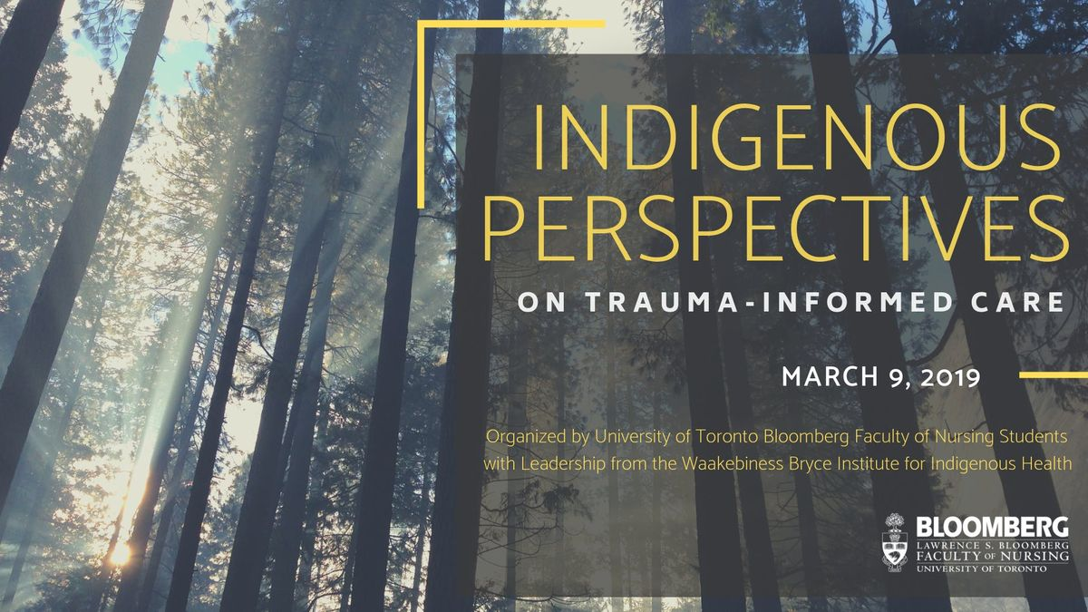 Indigenous Perspectives on Trauma-Informed Care 2019