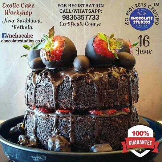 EXOTIC CAKE WORKSHOP ON 16Th JUNE