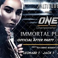1-Altitude presents ONE Championship Immortal Pursuit AfterParty