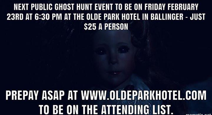 paranormal happenings