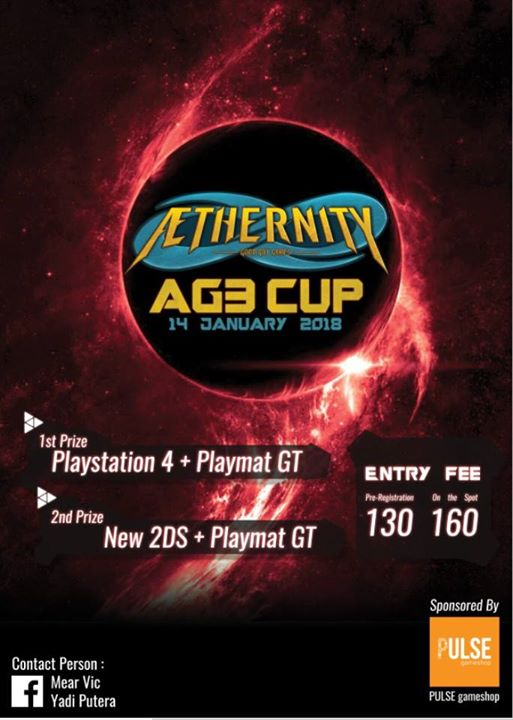 Cardfight Vanguard Aethernity G3 Cup 2018