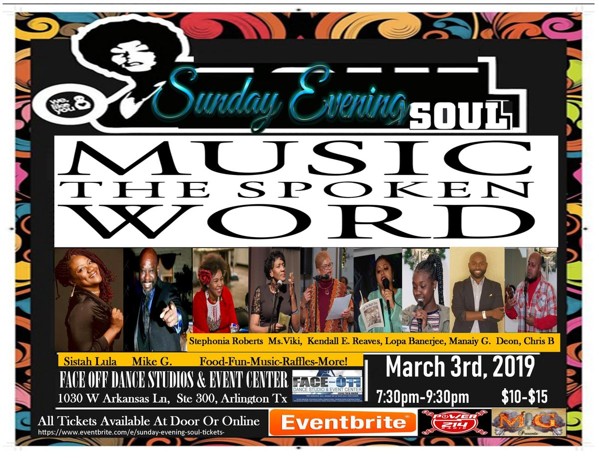 Sunday Evening Soul  (Womens History Month Edition