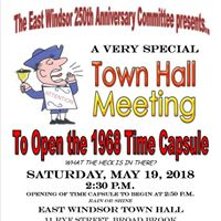 Opening of East Windsors 1968 Time Capsule