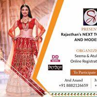 Rajasthan s Next Top Designer &amp Model 2017