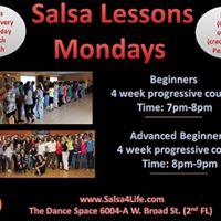Salsa 4 Beginners (4 week progressive series)