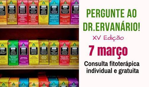 Consulta fitoterpica gratuita com Dr. Ervanrio