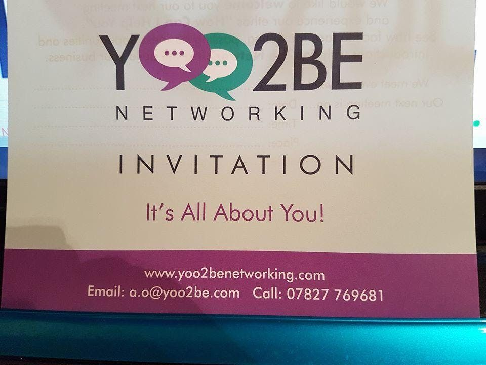 New Yoo2Be Networking Group Stafford