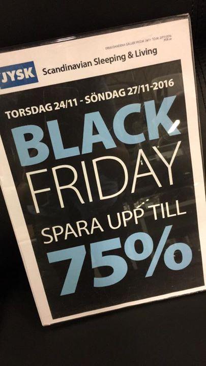 black friday linköping
