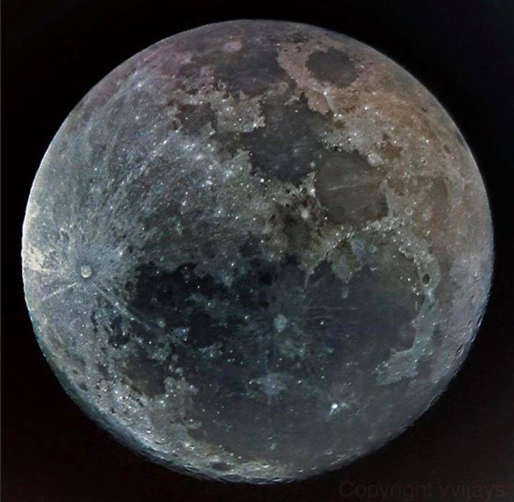 Blue moon  super moon total lunar eclipse