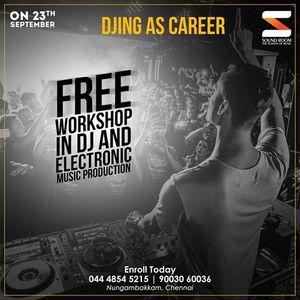 Free DJ  EMP Workshop at Soundroom - September