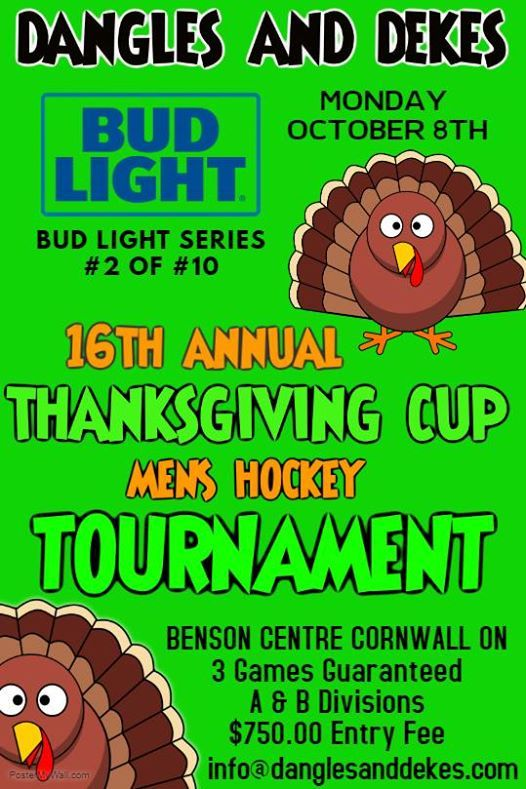 Bud Light Series Tournament 2  16th Annual Thanksgiving Cup