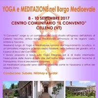 Yoga &amp Meditazione nel Borgo Medioevale
