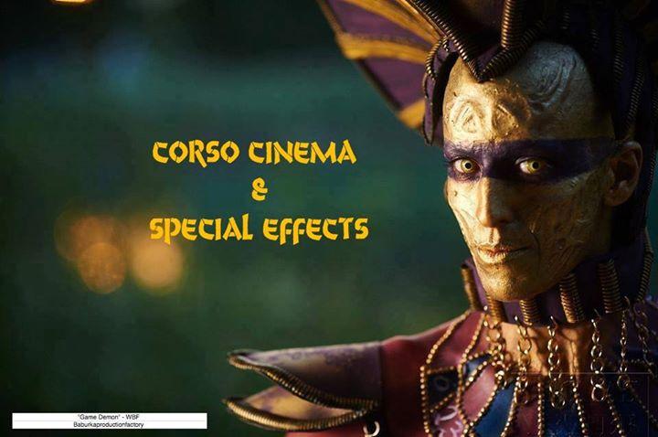 Cinema & Special Effect (70 ore) shooting stage Kit Kryolan