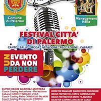 Festival Citta DI Palermo 2 edizione
