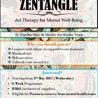 Zentangle Program-Art Therapy for Mental Well-Being