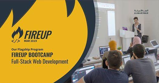FireUp Bootcamp March2019 - Full Stack Web Development Program
