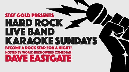 Hard Rock Live Band Karaoke Sundays at Stay Gold, Sydney