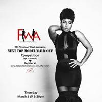 2017 Fashion Week Alabama Next Top Model Walk-Off Competition