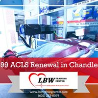 ACLS Renewal in Chandler