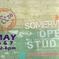 Join us for Somerville Open Studios at Vernon Street