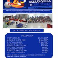 2 Open Carnaval de Barranquilla de Tenis de mesa - 2018