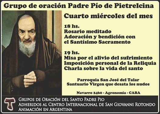 Grupo de Oracin Padre Pio de Pietrelcina