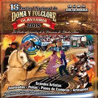 16 Festival Nacional de Doma y Folklore en Olavarra