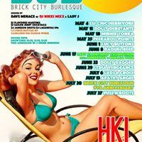 Brick City Burlesque presents Peekaboo Pointe