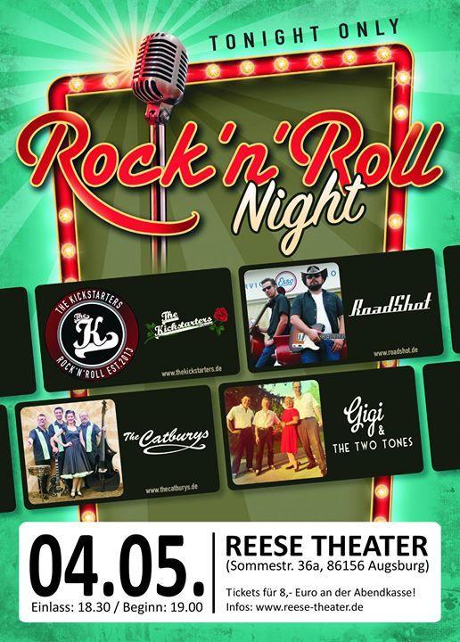 RocknRoll-Night  Reese Theater