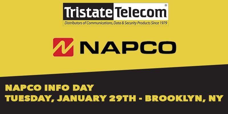 Napco Info Day (Brooklyn NY) - January 29th 2019