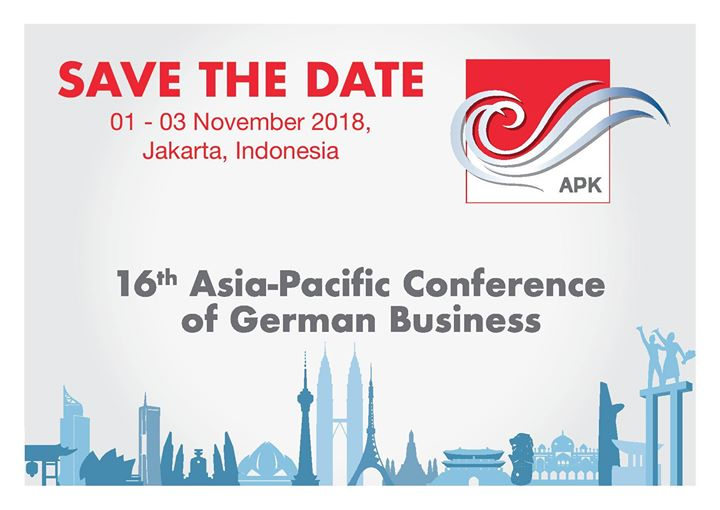16th Asia-Pacific Conference of German Business (APK)