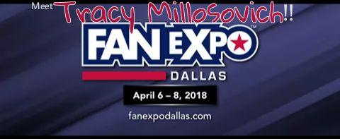 Meet Tracy at FAN EXPO Dallas