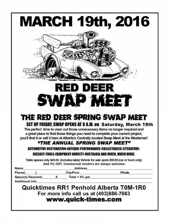 swap meet red deer march 2015