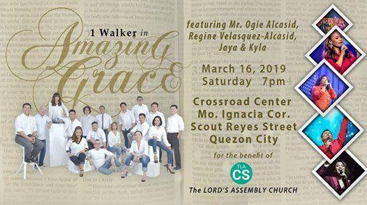 1 Walker Worship Concert Amazing Grace