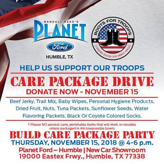 Planet Ford Humble Tx >> Planet Ford Care Package Drive And Party At Planet Ford 59