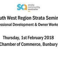 South West Region Strata Seminar