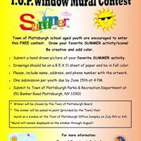 TOP Window Mural Contest - Summer