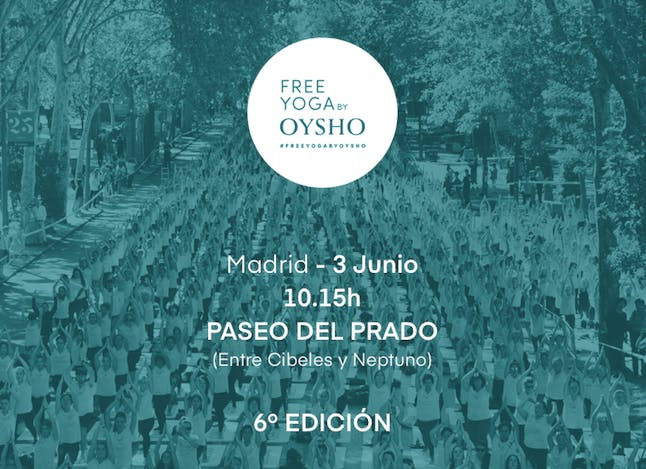 Voluntarios Free Yoga by OYSHO- Madrid 2018