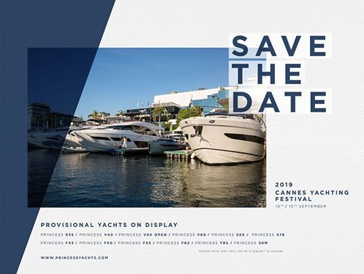 Cannes Yachting Festival Med Princess Yachts West Sweden Cannes