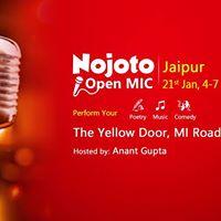Nojoto Open Mic- Jaipur